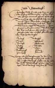 Visitation at Wittenberg, 1528