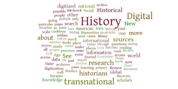 Tag cloud of Putnam's article created with WordItOut