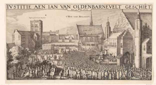 Engreaving of the executionm, 1619