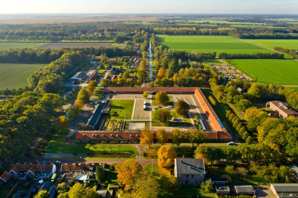 Aerial photo of Veenhuizen - image Miranda Drenth